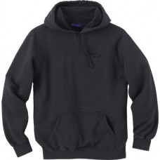 100% Cotton 2003BK Pullover With Hood Style Sweashirt Black