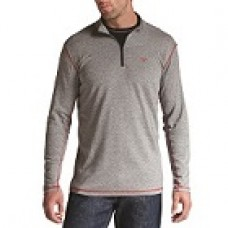 A10014377 FR Polartec Gray Mid-Weight 1/4 Zip