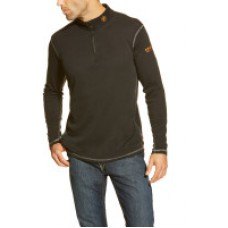A10014378 FR Polartec Black 1/4 Zip