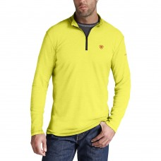 A10014891 Polartec Power Dry Hi Vis !/4 Zip